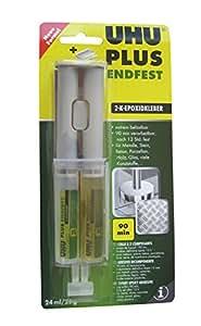 UHU Colle 2 composants plus endfest 300, 25 g en seringue