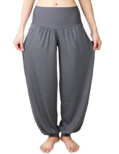 Lathpin Pantaloni Larghi Donna Harem Baggy Hip Hop Lunghi Pantaloni
