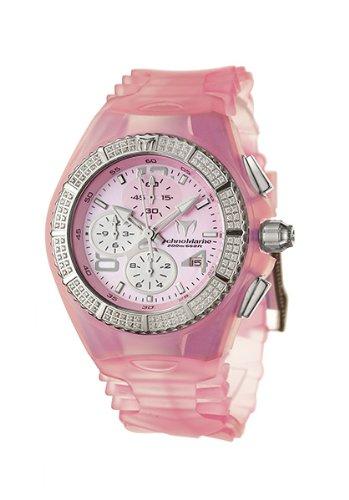 Technomarine 108027 - Reloj de mujer de cuarzo, correa de silicona