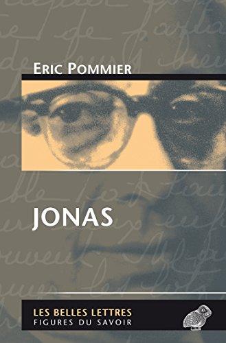 Jonas (Figures du savoir t. 51) par Eric Pommier