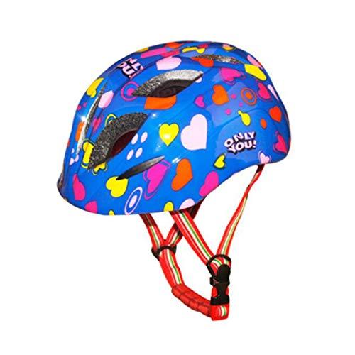Preisvergleich Produktbild HHQ Cool Friends Kinder Fahrrad Einteilige Helm Kinder Radfahren Sport Helm (Farbe : C)