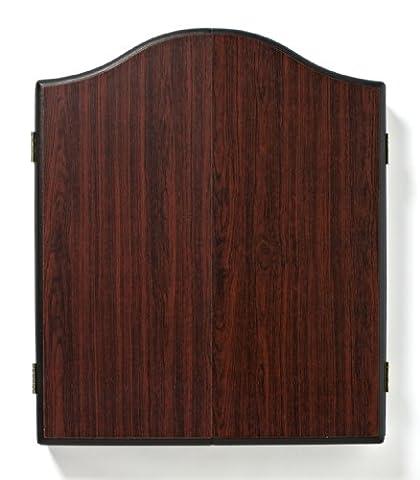 Winmau Plain Rosewood Dartboard Cabinet Cabinet pour cible de fléchettes Bois de rose