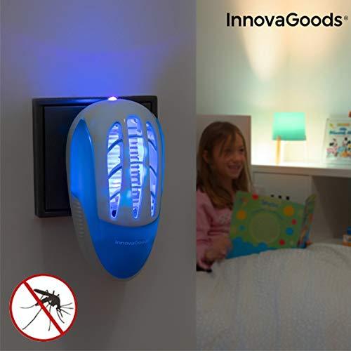 Prise Anti-moustiques avec LED ultraviolette