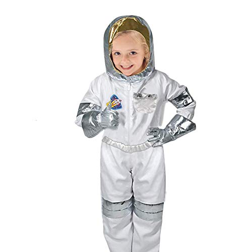 Kostüm Raumanzug Helm - Astronaut Rollenspiel-Kostüm, Set trifft den Luft- und Raumfahrt-Traum für Kinder