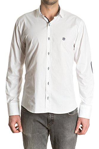 di-prego-mens-long-sleeve-white-shirt-with-elbow-patches-mandarin-or-band-collar-and-reversible-patt