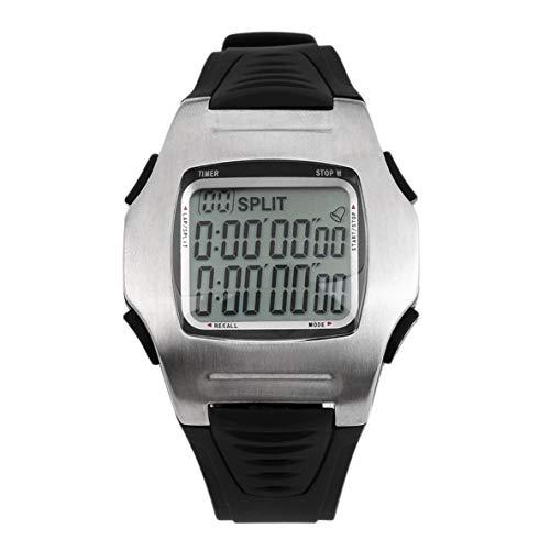 Noradtjcca Multifunktionsuhren Fußball Schiedsrichter Uhren Stoppuhr Timer Chronograph Countdown Football Club Männliche Uhr Neue Ankunft (Fußball-countdown-uhr)