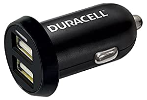 Duracell dR5015A allume-cigare 12 v/24 v 3.4A port dual chargeur allume cigare pour tablette/smartphone