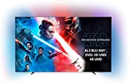 Philips Ambilight 55OLED804 139 cm (55 Zoll) Oled TV (4K UHD, HDR10+, Android TV, Dolby Vision, Google Assista