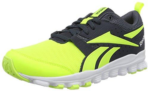 reebok-hexaffect-sport-scarpe-running-uomo-grigio-solar-yellow-smokey-black-white-43-eu
