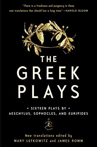 Greek Plays: Sixteen Plays by Aeschylus, Sophocles, and Euripides (Modern Library Classics (Paperback))