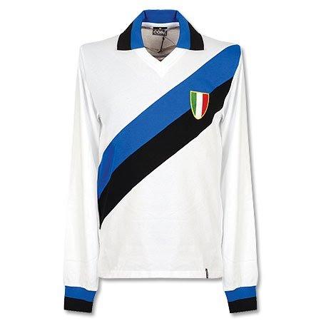 1960 Inter Mailand Away L/S Retro Shirt-S (Shirt L/s Away)