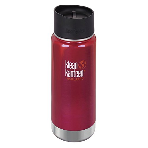 Klean Kanteen Wide Vacuum Insulated Trinkflasche, Roasted Pepper, One Size