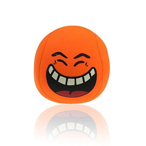 Tatis Kissen Cute Form Ball Kissen Cute Funny Ausdruck Kissen Spielzeug Kissen Bunter Smileyemoticon...