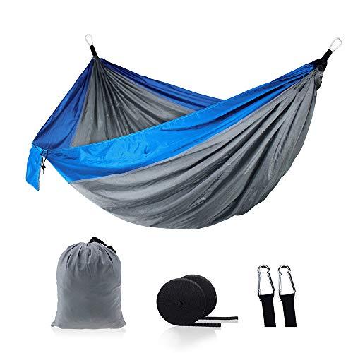 WESYY Hamac Ultra-léger de Voyage Camping | pour Jardin d'interieur/extérieur Il est si Douillet, Confortable, Respirant et à l'abri du soleil270X140 CM