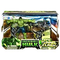 Incredible Hulk: The Movie > Epic Tunnel Clash Action Figure Multi-Pack by Hasbro
