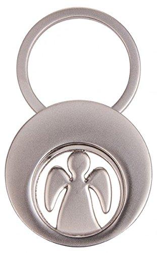 Preisvergleich Produktbild Schlüsselanhänger Schutzengel mit Einkaufswagen- Chip