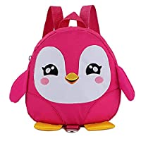 Ikavee Children Toddler Backpacks Owl Shape School Bags Kids Waterproof Oxford Shoulders Bag with Traction Rope Backpack for Boys Girls Daypacks