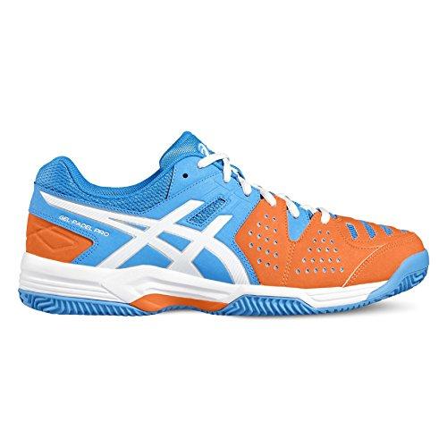 ASICS - GEL PADEL PRO 3 SG - E511Y - Chaussures - Homme bleu vif/blanc/orange
