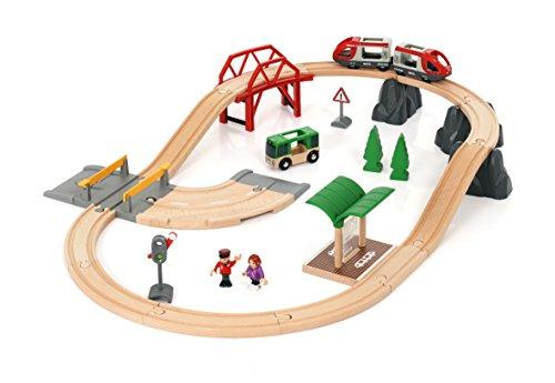 BRIO World AB 33915 - Rail und Road City Set, Bahnset, mehrfarbig