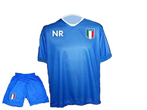 Italien Trikot Hose mit Wunschname Nummer Kinder Größe 176