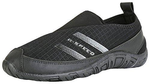 Globalite Men's Black Canvas Shoes-10  available at amazon for Rs.299