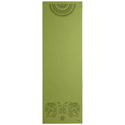 183cm-leela-yoga-mat-olive-green-elephant-mandala-print