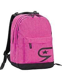 2e4efba4e9 Zaino scuola SEVEN - THE DOUBLE PRO XXL - Rosa - 30 LT schienale  compatibile con