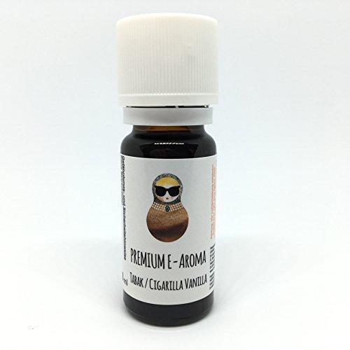Oshka tabacco cigarilla vanilla aroma triplo concentrato premium 10 ml