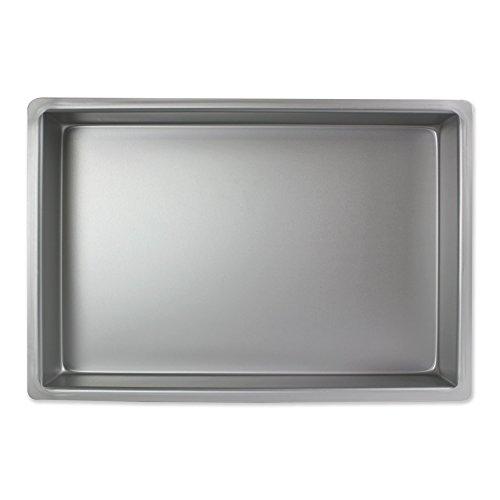PME Molde para Pastel Rectangular de Aluminio Profundidad de 8 x 12 x 3-Pulgadas