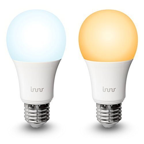 Innr Smart Bulb E27, Works with Philips Hue*, Amazon Alexa/Google Assistant (Hub Required), Tunable & Dimmable White Ambiance Light, RB 178T (2-Pack)