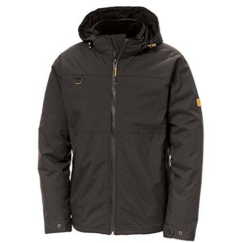 ec60c37859 CAT Workwear Mens Chinook Waterproof Nylon Hooded Full Zip Jacket