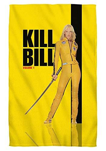 Trevco Inc Poster Bath Towel Kill Bill Volume 1 Standard