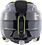 ALPINA Jungen GRAP 2.0 Junior Skihelm, Black-neon-Yellow, 51-54 cm