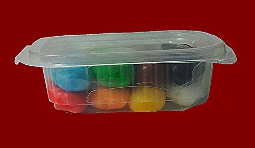 Rollfondant Icing Fondant Masse Tortendeko Tortendecke Alle Farben (8-Farben Mix 200g)