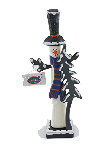 Hanna 's handiworks University of Florida Schneemann Figur Top Hat