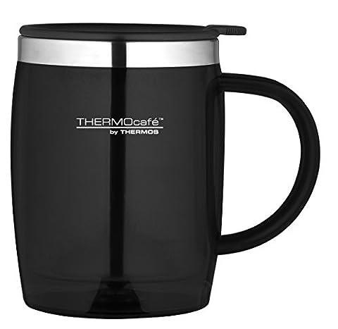 Thermos ThermoCafé Translucent Desk Mug, Black, 450