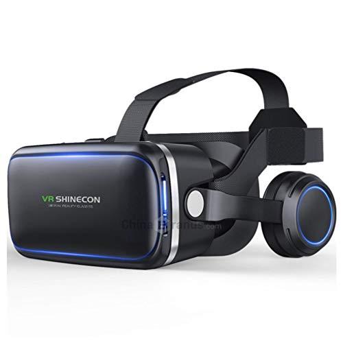 VR Casque, Casque de Réalité Virtuelle, VR3D VR lunettes pour les films, la vidéo, Jeux - Réalité virtuelle Lunettes VR lunettes pour iPhone, Android et autres téléphones dans les pouces de 4,7 à 6