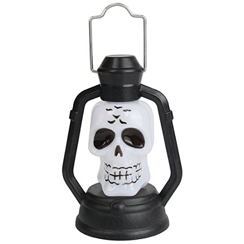 Andux Luces LED de Halloween para decoraciones de Halloween Esqueleto WSJXMD-01