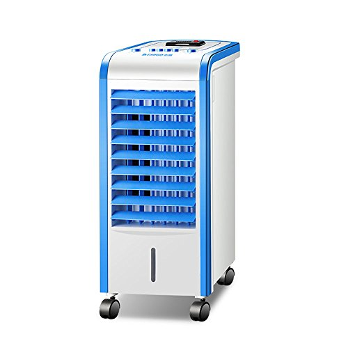 Feifei Tragbar Einzelne kalte Art Mobile Air Cooler 3-Gang-Anpassung Tragbare Haushalt mit Mückenschutz Funktion Cold Air Fan Luftreiniger Klimaanlage Lüfter 80W Wassergekühlte Klimaanlage