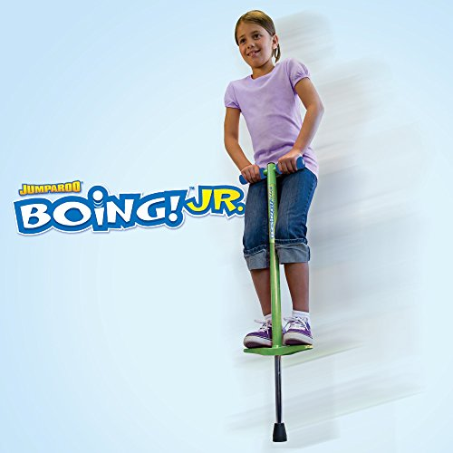 Jumparoo BOING! JR. Pogo Stick by Air Kicks, Small for Kids 50 to 90 Lbs. by Geospace