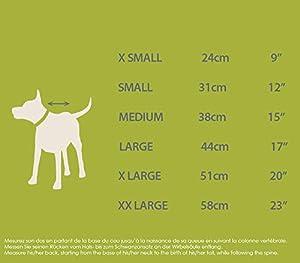 ZEESHOP Manteau 4 Pattes en Polaire pour Chien, Combinaison Hiver 100% Polyester - Plusieurs Tailles (XXL à XS)