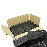 RelianceUK Strong MEDIUM DUTY Black Bin Bags Dustbin Rubbish Liner Strong Refuse Sacks 160 Gauge (Pack of 200)