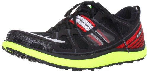 Brooks Pure Grit, Chaussures sportive-running Homme - Silver/black/Shadow/Lava/Nightlife