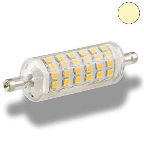 Isolicht R7s LED Stableuchten R7s LED Stablampe, 5W, L: 78mm, 2700K warmweiss
