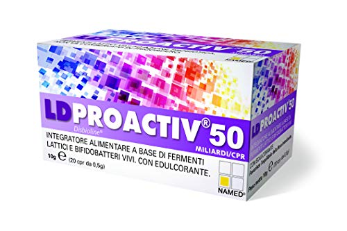 LD Proactiv 50 flacone da 20 compresse
