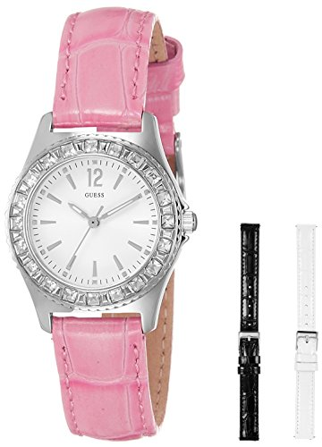 Guess Analog White Dial Women'sWatch - W11180L1 image