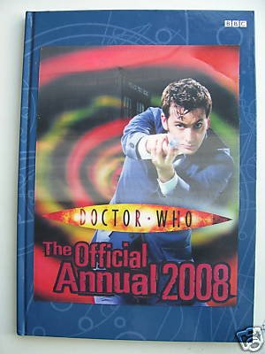 DOCTOR WHO THE OFFICIAL ANNUAL 2008 HOLOGRAM FRONT