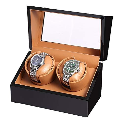 SXM Hochwertige Uhrenbeweger 2 + 0 Aufbewahrungsbox, Uhrenbeweger Aufbewahrungsboxen für Automatikuhren, Fit Lady und Man Automatic Watch