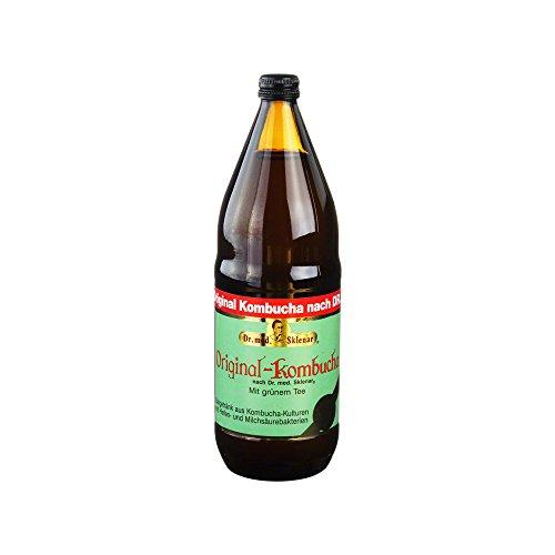 BIO KOMBUCHA m. grünem Tee Lösung 1000 ml