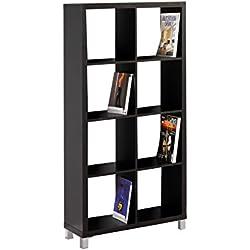 Kit Closet Kubox - Estantería, 8 huecos, color negro